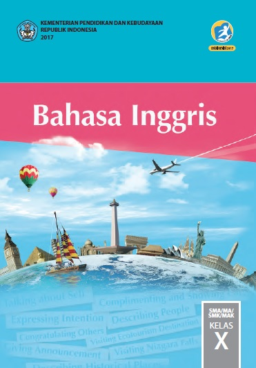 Buku Bahasa Inggris Kelas 10 Kurikulum 2013 Revisi 2017
