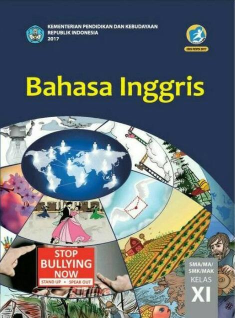 Buku Bahasa Inggris Kelas 11 Kurikulum 2013 Revisi 2017