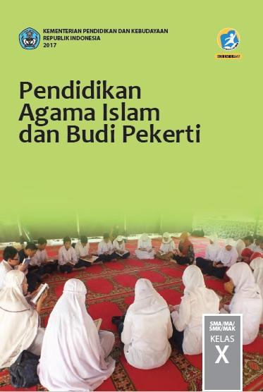 Cover Buku Pendidikan Agama Islam Kelas 10