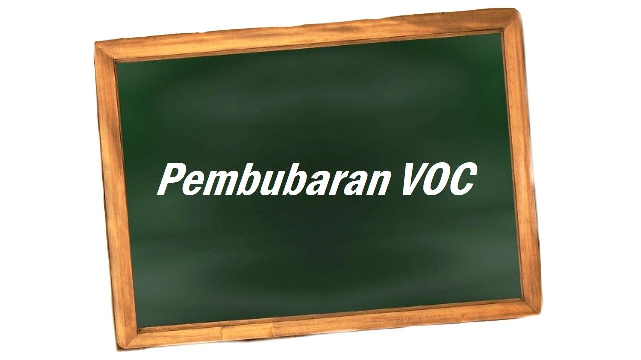 pembubaran VOC