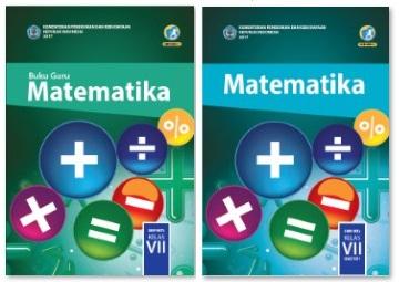 Cover Buku Matematika Kelas 7 SMP Kurikulum 2013 Untuk Siswa dan Guru